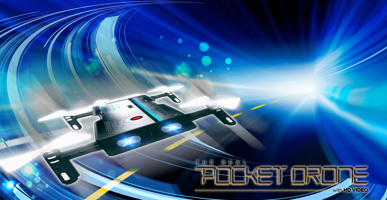 The Pocket Drone by Odyssey Toys