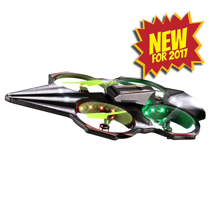 Starblade, Odyssey Toys, Drone, Fun Drone, Toy Drone, Easy to Use Drone, superbright drone, night drone, LED drone, LED lights, fly day or night,