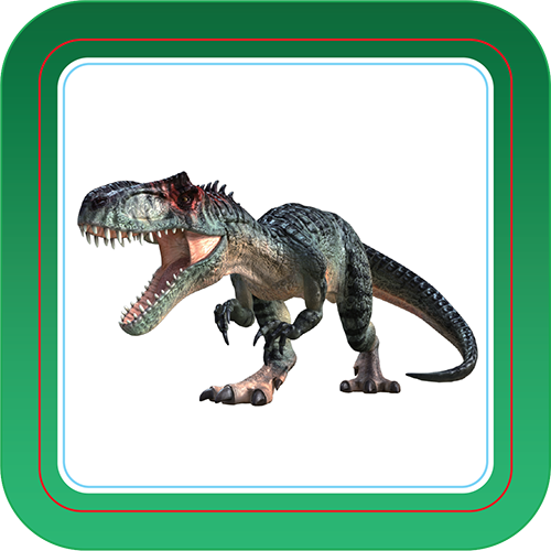 T Rex - Interactive Cards
