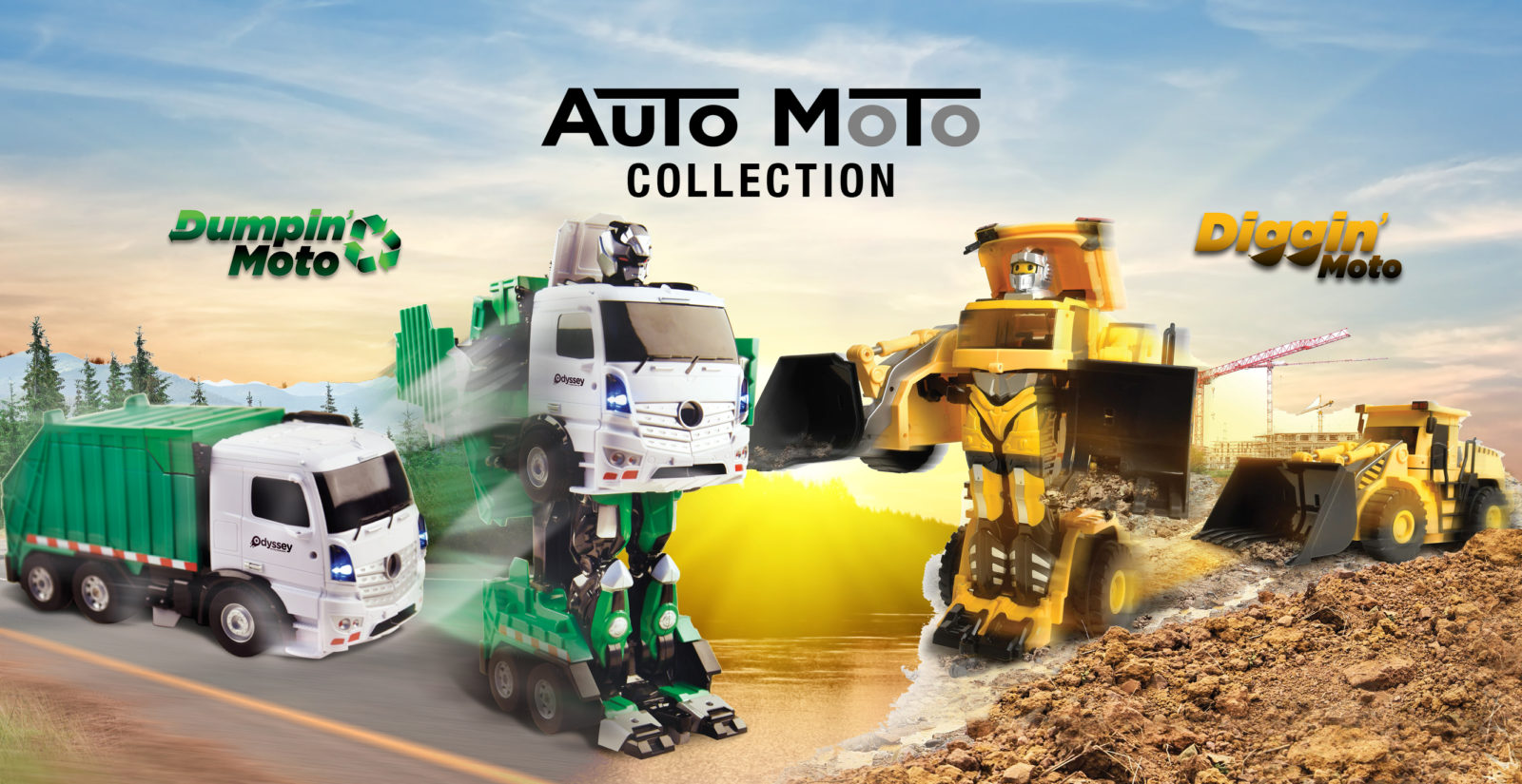 auto moto, tranforming trucks, transforming cars